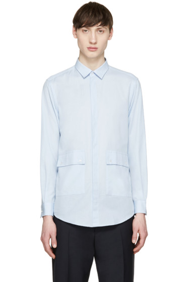 MSGM - Blue Pocket Shirt