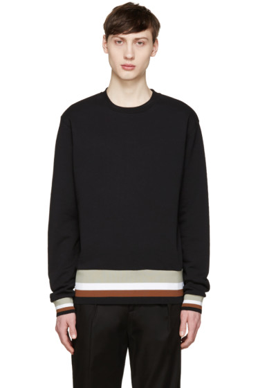 MSGM - Black Striped Band Pullover