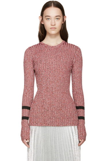 Mary Katrantzou - Red Knit Fontaine Sweater