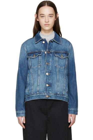 Frame Denim - Blue Denim Le Original Jacket