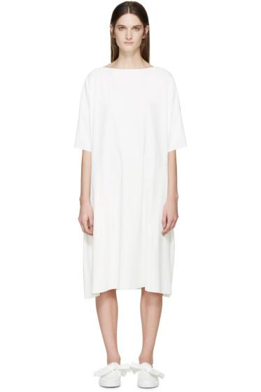 Cédric Charlier - White Crepe Dress