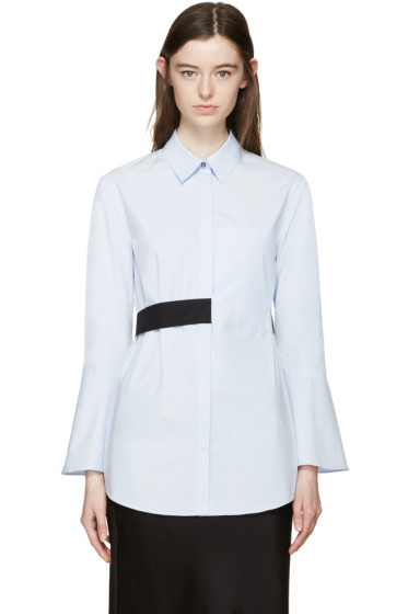 Cédric Charlier - Blue Tie Waist Shirt