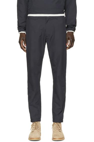Nanamica - Navy Slim Trousers