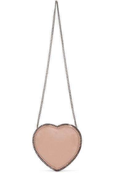 Stella McCartney - Pink Falabella Heart Shoulder Bag
