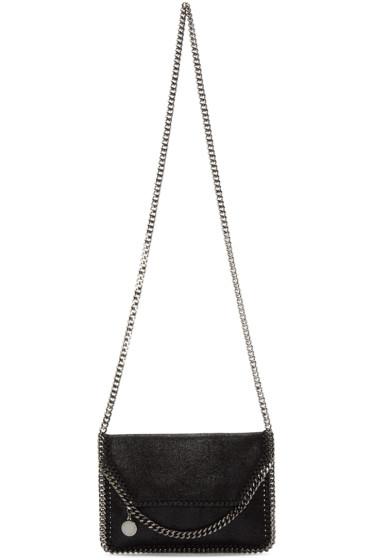 Stella McCartney - Black Tiny Falabella Shaggy Deer Bag