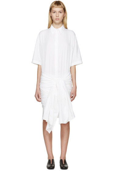 Stella McCartney - Ivory Wrapped Martine Shirt Dress