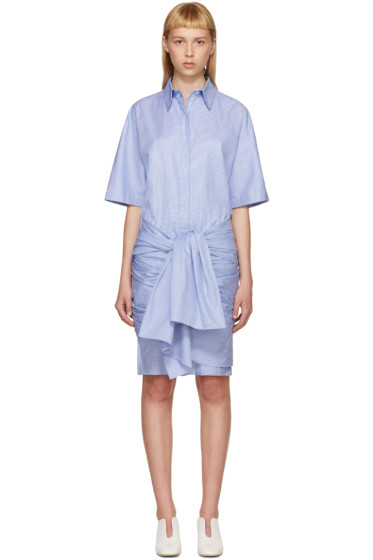 Stella McCartney - Blue & White Martine Dress