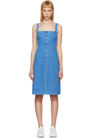 Stella McCartney - Blue Denim Linda Dress