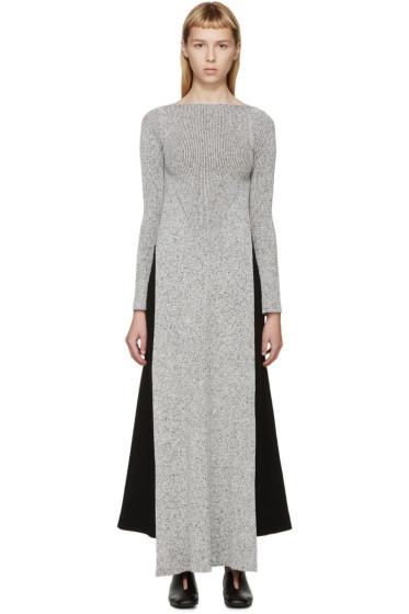 Stella McCartney - Grey Long Side Slit Sweater