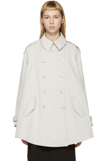 Stella McCartney - Beige Short Elsina Trench Coat