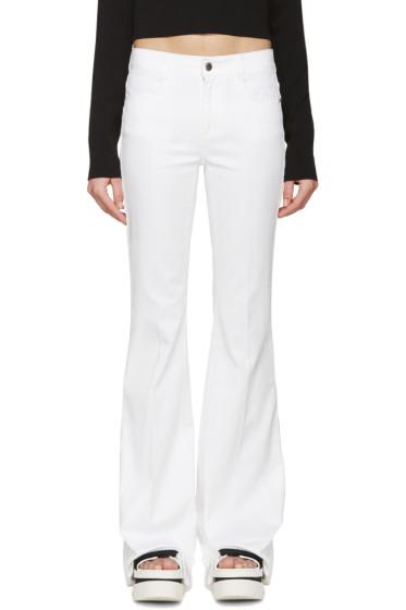 Stella McCartney - White 70's Flare Jeans