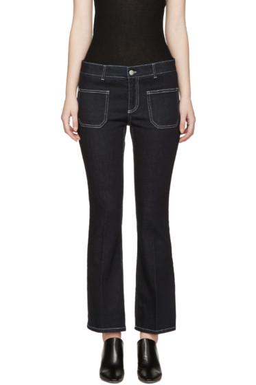 Stella McCartney - Indigo Flared Kick Jeans