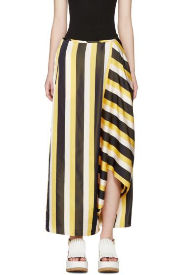 Stella McCartney - Tricolor Striped Skirt