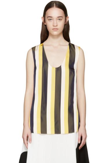 Stella McCartney - Tricolor Striped Tank Top