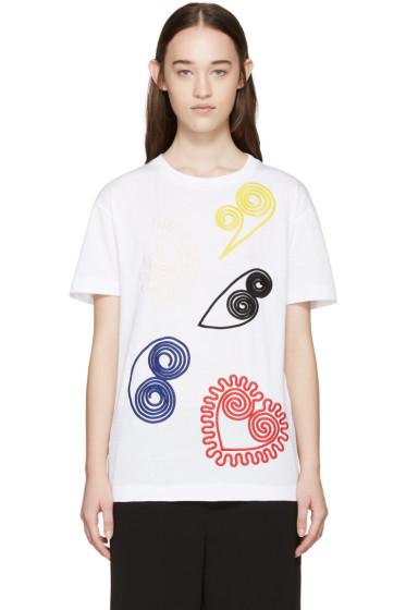 Stella McCartney - White Embroidered T-Shirt