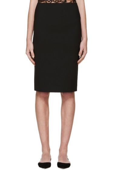 Nina Ricci - Black Milano Skirt