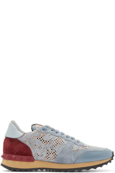 Valentino - Multicolor Lace Low-Top Sneakers
