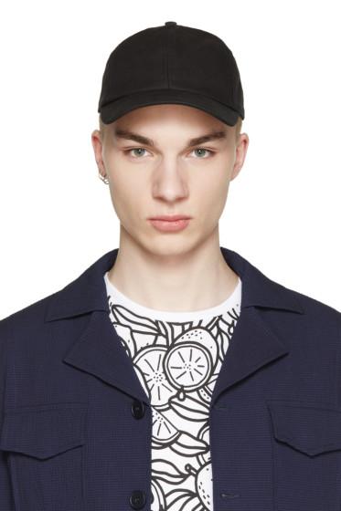 AMI Alexandre Mattiussi - Black Classic Cap