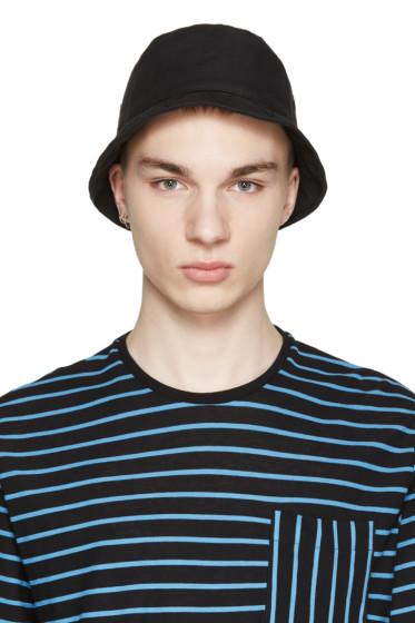 AMI Alexandre Mattiussi - Black Logo Bucket Hat