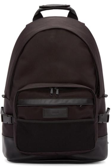 AMI Alexandre Mattiussi - Black Nylon Backpack