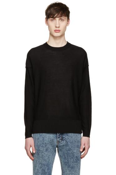 AMI Alexandre Mattiussi - Black Inside-Out Sweater