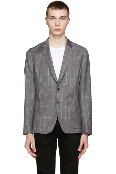 Paul Smith London - Grey Check Loro Piana Blazer