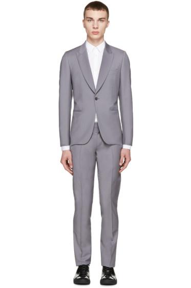 Paul Smith London - Grey Wool Two-Piece Soho Suit