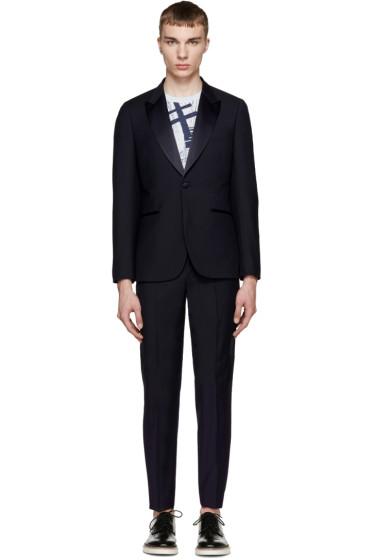 Paul Smith London - Navy Peaked Lapel Tuxedo