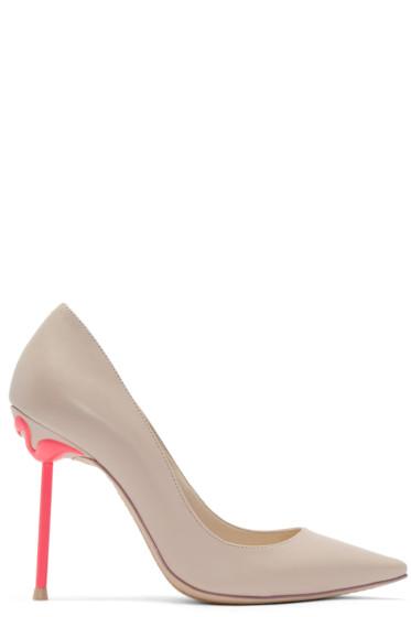 Sophia Webster - Pink Coco Flamingo Pumps