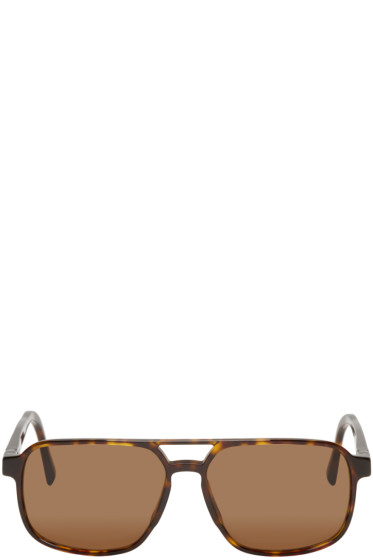Mykita - Brown Acetate Remy Sunglasses