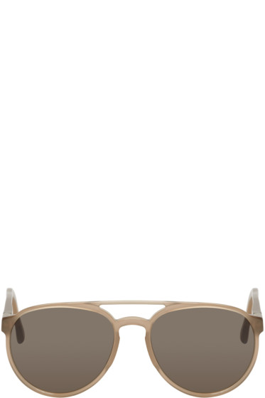 Mykita - Taupe Acetate Cyril Sunglasses