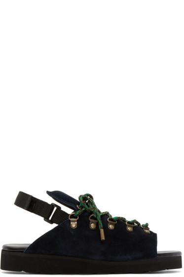 Kolor - Navy Hiking Hybrid Sandals