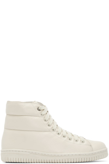 Christian Peau - Grey Cp-Hc-Gr High-Top Sneakers