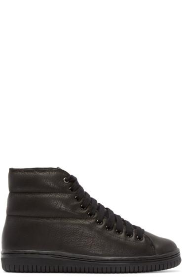 Christian Peau - Black Cp-Hc-Gr High-Top Sneakers