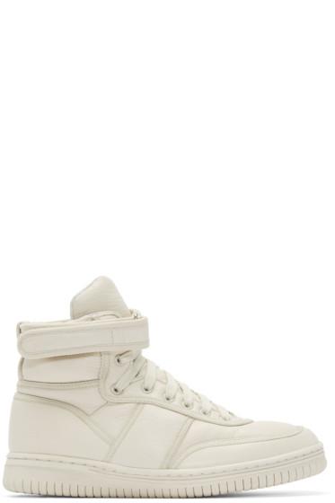Christian Peau - Grey Hodi-Ppp High-Top Sneakers