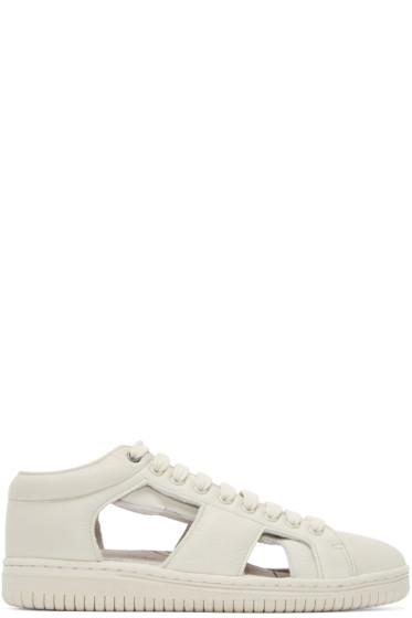Christian Peau - Grey Low-Cut-Gr-Sk1 Sneakers