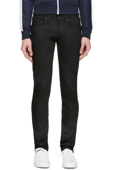 Naked & Famous Denim - Black Power Stretch Super Skinny Guy Jeans