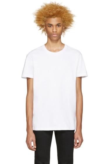Naked & Famous Denim - White Seamless T-Shirt