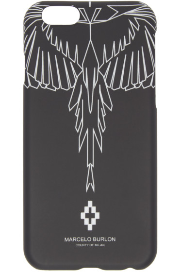 Marcelo Burlon County of Milan - Black Maipu iPhone 6 Case