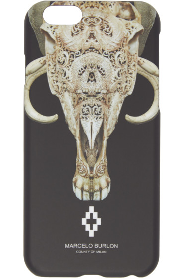 Marcelo Burlon County of Milan - Black Antofagasta iPhone 6 Case