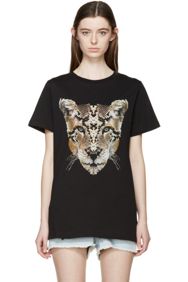 Marcelo Burlon County of Milan - Black Guadalupe T-Shirt