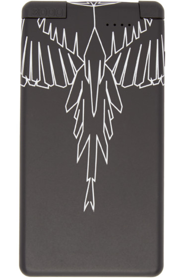 Marcelo Burlon County of Milan - Black Portable Talca Device Charger