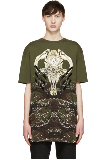 Marcelo Burlon County of Milan - Green Vertientes T-Shirt