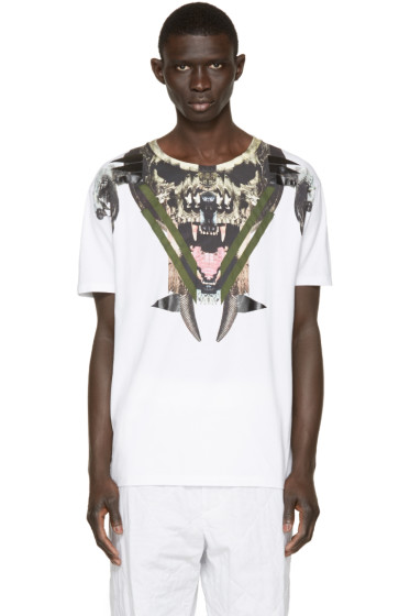 Marcelo Burlon County of Milan - White Pontoetoe T-Shirt