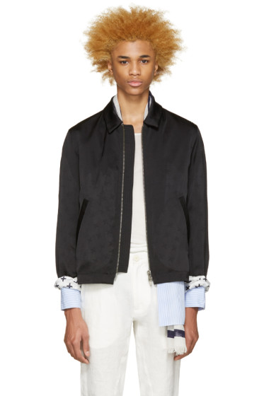 Haider Ackermann - Black Satin Jacket