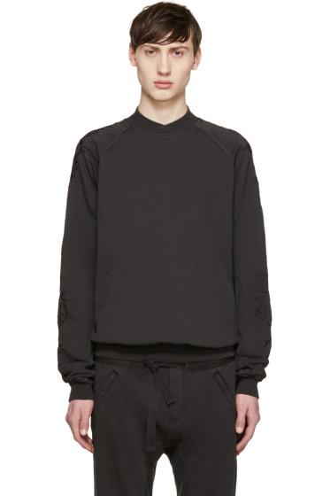 Haider Ackermann - Grey Embroidered Pullover