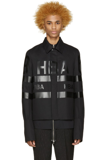 Hood by Air - Black Twill 69 Jacket