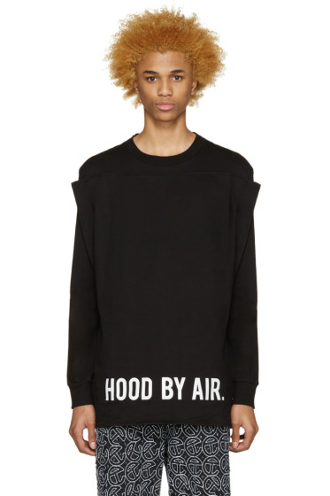 Hood by Air - Black Squared T-Shirt