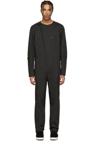 Alexandre Plokhov - Black Cotton Jumpsuit