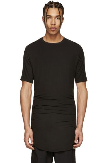 Alexandre Plokhov - Black Jersey Drawstring T-Shirt